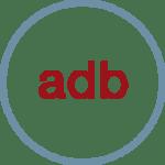 Logo von adb