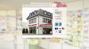 website der Bären Apotheke